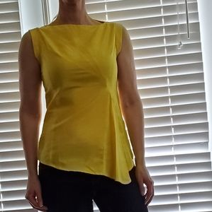 Banana Republic yellow dress top